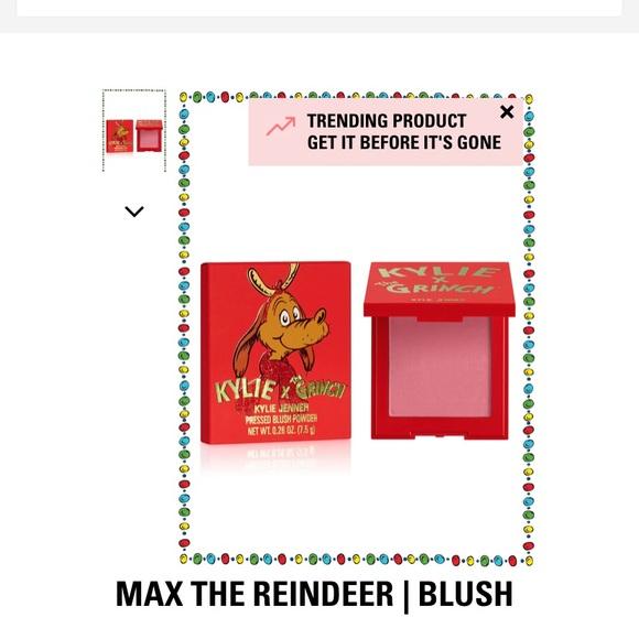 max the reindeer blush kylie cosmetics